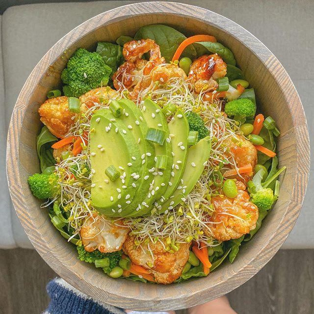 Teriyaki Cauliflower Salad