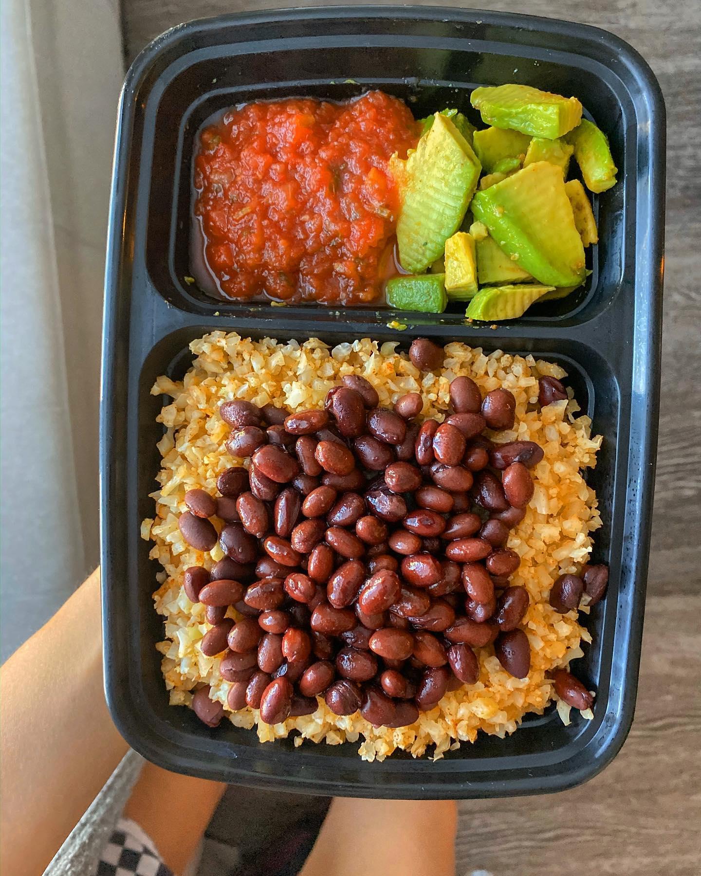 Keto Inspired + Vegan Meal Prep Idea